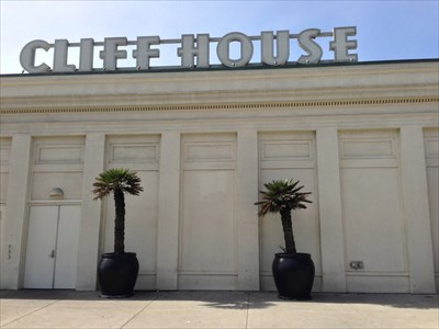 Cliff House Sign and Side, San Francisco, California