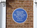 Image for William Thomas du Boulay - Gilston Road, London, UK