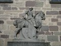Image for Equestrian Statue Church Empfingen, Germany, BW