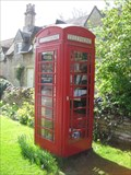 Image for Red Telephone Box - Meadow Lane, Thornhaugh, Cambridgeshire, UK