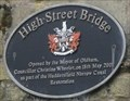 Image for High Street Bridge Over Huddersfield Narrow Canal - Uppermill, Yorkshire, UK