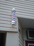 Image for Kate's Barber Shop Barber Pole - Renfrew Ontario