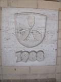 Image for Gründungsstein, Rathaus Lohfelden, Hessen, D