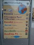 Image for Sister City Moument Reutlingen, Germany, BW