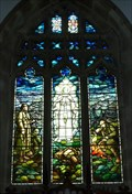 Image for Memorial Stained Glass, St Mary's Church, Kettlewell, N Yorks, UK