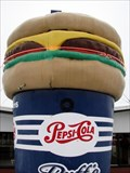 Image for Giant Burger and a Pepsi - Ruff's Giant Burgers - Kennewick, WA