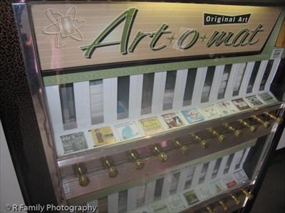 Art*O*Mat at The Living Room - Costa Mesa, CA - Art*o*mats ...