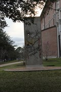 Image for Berlin Wall Remnant -- Rice University, Houston TX