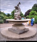 Image for The Boy and Dolphin Fountain in Rose Garden - Hyde Park (London)