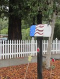 Image for American Flag Mailbox - Los Altos, CA