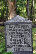Image for Battery F, 1st Ohio Light Artillery Marker - Chickamauga National Military Park