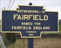 Image for Blue Plaque: Fairfield