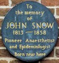 Image for John Snow - North Street, York, UK
