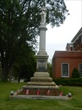 Image for Greene County Confederate Monument - Greensboro, Ga.