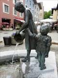 Image for Mutter-Kind-Brunnen - Berchtesgaden, Lk Berchtesgadener Land, Bayern, D