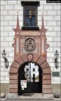 Image for Renezancní portál na Trebonském zámku / Renaissance portal in Chateau Trebon  (Trebon - South Bohemia)