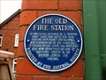 Image for Blue Plaque - The Old Fire Station, Shifnal, Shropshire