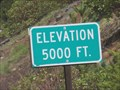 Image for Willamette Highway 58 (WB) - Odell Lake OR - 5000'