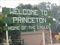 "Image for Princeton, CA ""Home of the Eagles"""