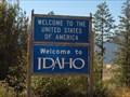 Image for United States / Canada Border - Idaho State Highway 1