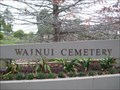 Image for Wainui Cemetery - Wainui,  North Island, New Zealand