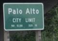 Image for Palo Alto, CA - Pop: 57,300