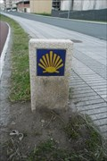 Image for Way Marker Paseo Maritimo (right side) - Cee, Spain