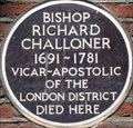 Image for Bishop Richard Challoner - Old Gloucester Street, London, UK