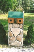 Image for Log Cabin Mail Box - Cassville, MO