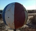 Image for Beach ball letterbox,  Bibby Springs, Western Australia,