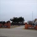 Image for Belew Cemetery - Aubrey, TX