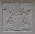 Image for Metropolitan Borough Coat Of Arms On War Memorial – Bradford, UK