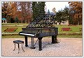 Image for Dumb piano in spa park, Kudowa Zdroj, Poland