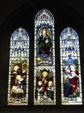 Image for St Peter and St Paul's Church Windows - Little Gransden, Cambridgeshire, UK