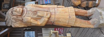 Image for Cigar Store Indian (Unpainted) ~ Valle, Arizona