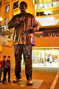 Image for Nelson Mandela Statue in Sandton, South Africa
