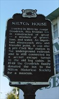 Image for Milton House Historical Marker