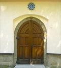 Image for Dvere kostela Narozeni Panny Marie / okres Usti nad Orlici, CZ