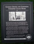 Image for George Ogden and Josephine Streeper Chase Home - Centerville, Utah