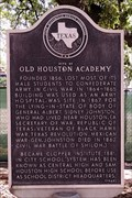 Image for Site of Old Houston Academy