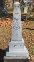Image for Payne - Old Cemetery - Rootstown, Ohio