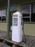 Image for Vintage Petrol Pump. Raurimu. Central North Is. New Zealand.