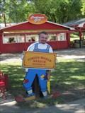 Image for Clown Cutout - Circus World - Baraboo, Wisconsin