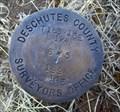 Image for T16S R13E S6 5 1/4 COR - Deschutes County, OR