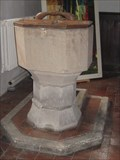 Image for Font  -  The Church of  St Andrew,  Caxton, Cambs UK