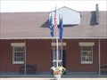 Image for Samson Memorial Museum - Nautical Flagpole - Ovid, New York