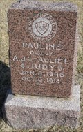 Image for Pauline Judy - Pleasant View Cemetery - Oskaloosa, Ks