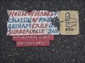 Image for NE Martin Luther King Jr. Blvd and Burnside St Toynbee Tile, Portland, Oregon