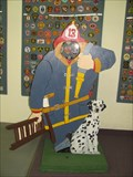 Image for Firefighter Cutout at The Hall of Flame - Phoenix, Arizona