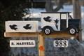 Image for Olde Truck Mailbox - Cedar Valley, Ontario